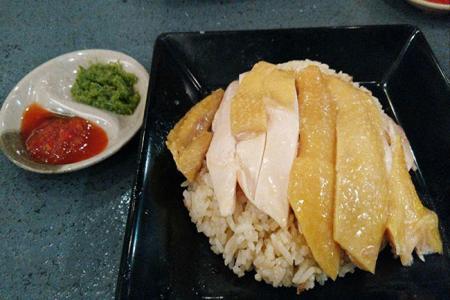 海南鸡油饭